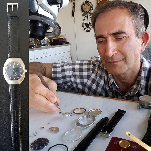 Provita Watch Overhaul, Polishing, New Crystal, New Band #watchrepair