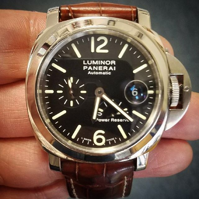 Luminor Panerai Watch Polishing #watchrepair