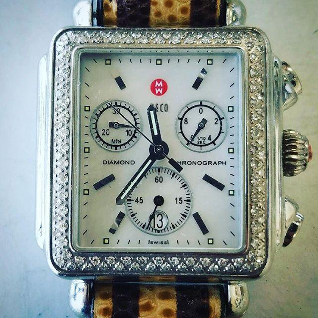 Michele Watch Overhaul & Repair #watchrepair