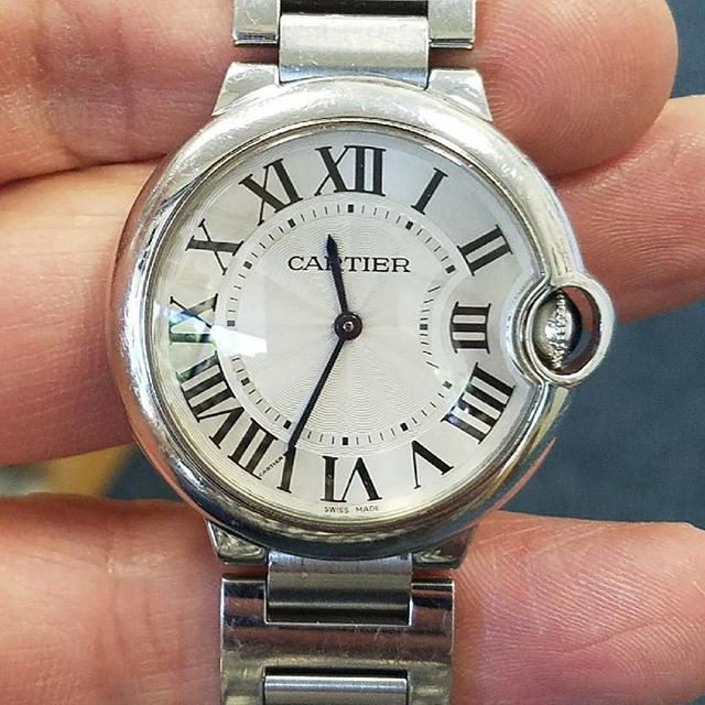 Last minute Cartier Repair #watchrepair
