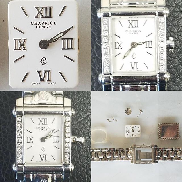 Swiss Watch Charriol Geneva Repair and Overhaul #watchrepair