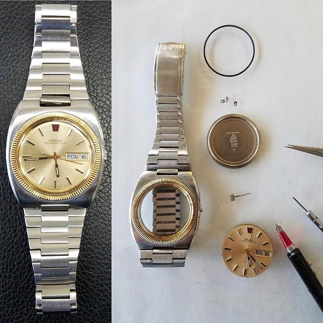 Omega Watch Overhaul and Repair #watchrepair