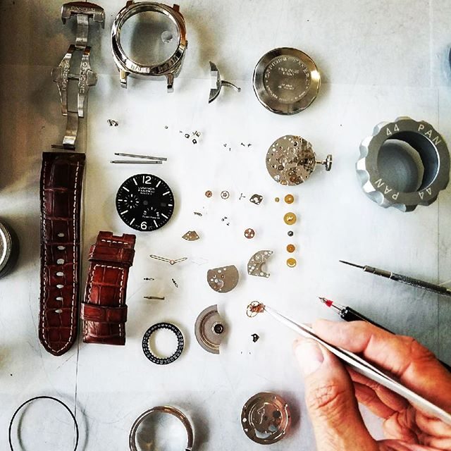 Panerai Luminor Watch Repair! #watchrepair