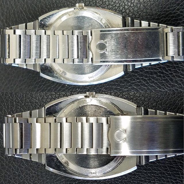 Omega Watch Polishing #watchrepair