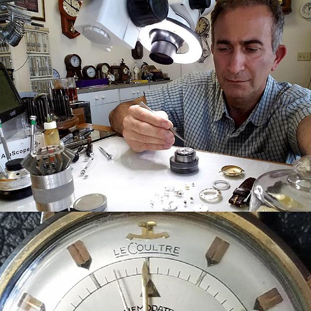 Vintage Jaeger-Lecoultre Alarm Watch Repair and overhaul #watchrepair