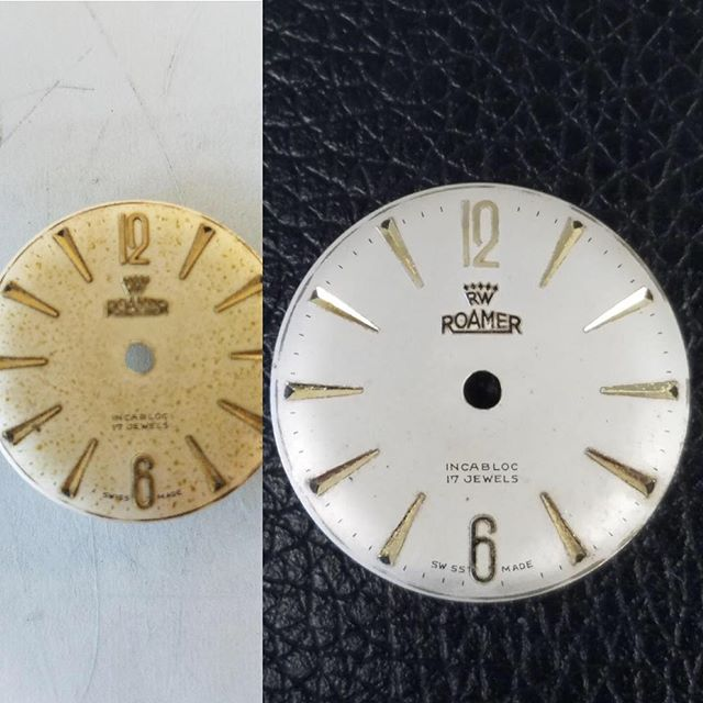 Watch Dial Cleaning Restoration #watchrepair