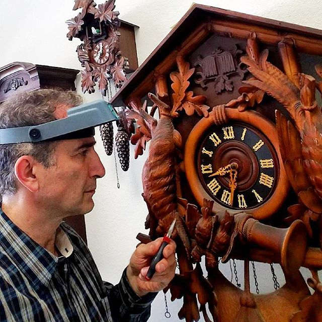 Huge Antique Cuckoo Clock Repair #clockrepair #watchrepair