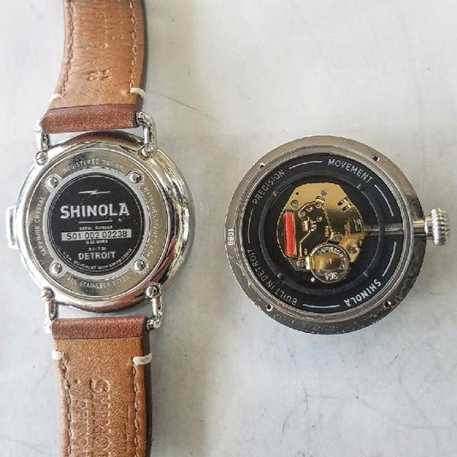 Shinola Watch Battery Replacement #watchrepair