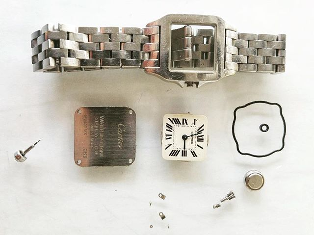 Cartier Watch Overhaul #watchrepair