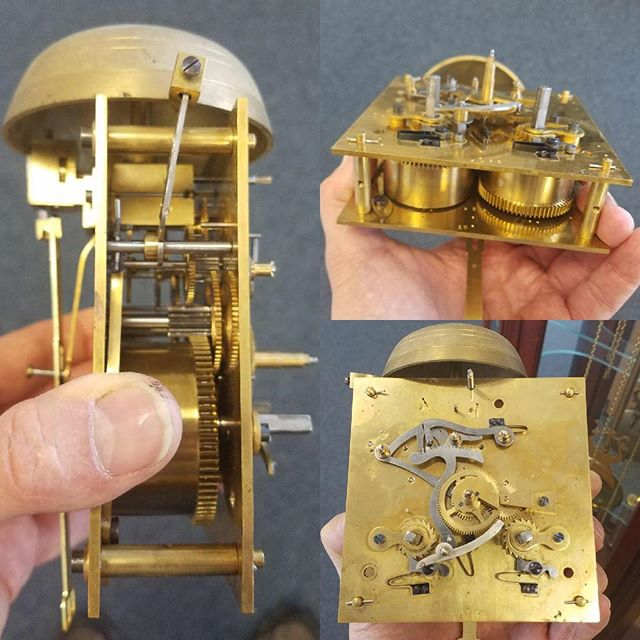 Antique Clock Repair and Overhaul #watchrepair