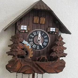 Small size Cuckoo Clock Repair #watchrepair