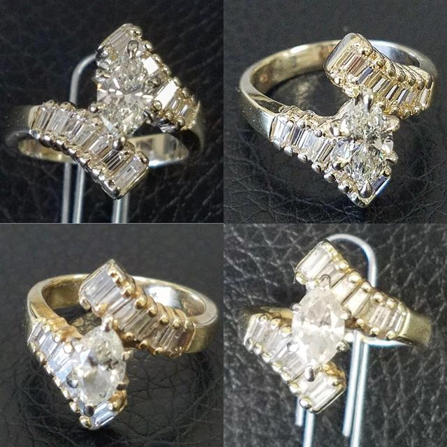 Ring Resize from 5 to 6, and retipping all prongs. #jewelry #watchrepair