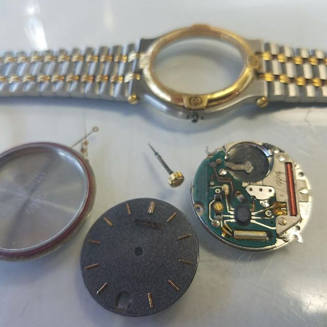Overhaul and Repair Time #watchrepair