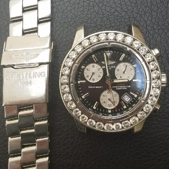 Breitling Watch Repair #watchrepair #breitling