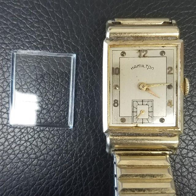 Vintage Hamilton Watch Glass Replacement #watchrepair